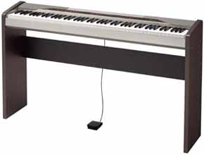 digital piano casio px110 privia digital stage piano. Black Bedroom Furniture Sets. Home Design Ideas