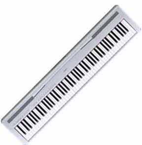 Digital piano yamaha p85 digital piano for Yamaha p85 contemporary digital piano
